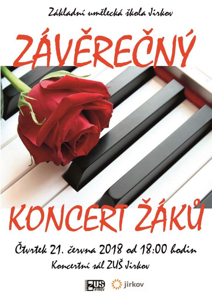 závěrečný koncert